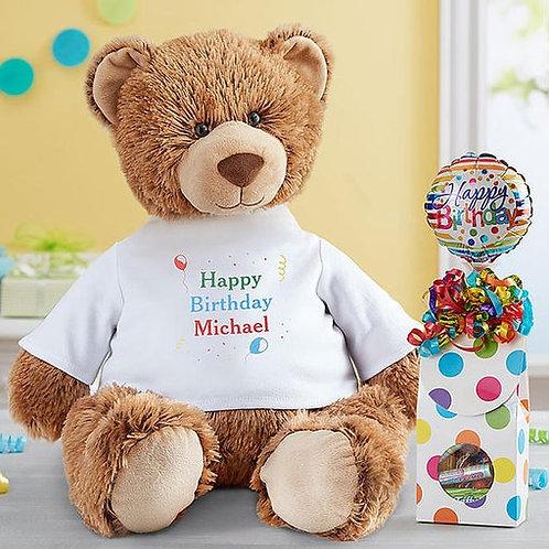 Personalized Tommy Teddy Birthday
