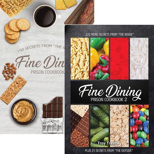 Fine Dining Prison Cookbook 1 & 2 Bundle/Combo