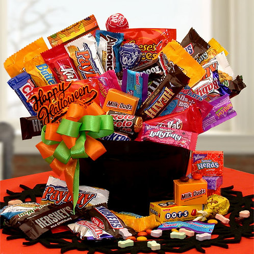 Happy Halloween Candy Cauldron Of Treats 914752