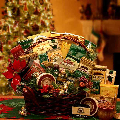 Grand Gatherings Holiday Gourmet Basket 816832