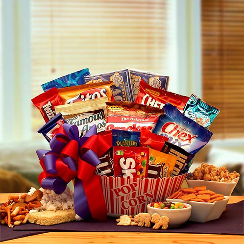 Snack Time Favorites Gift Basket 820632