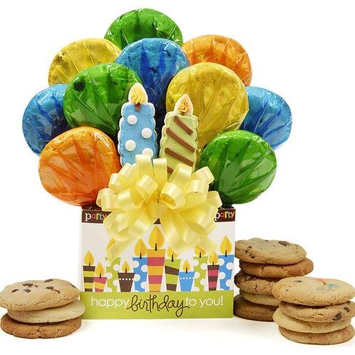 Birthday Candles Bouquet - CB-BIR-OPEN-CNDL