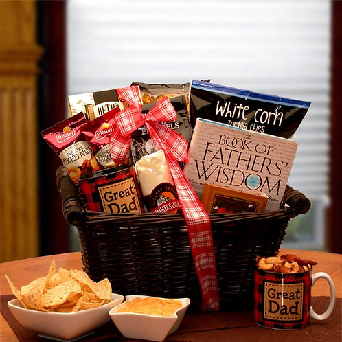He's A Great Dad Gift Basket 851912