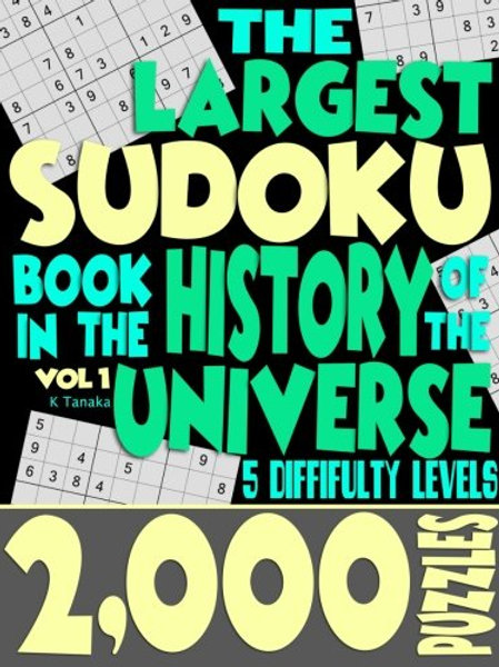 The Largest Sudoku Book in the History of the...