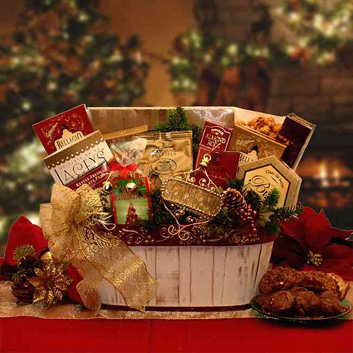 Have A Very Merry Christmas Holiday Basket 815551