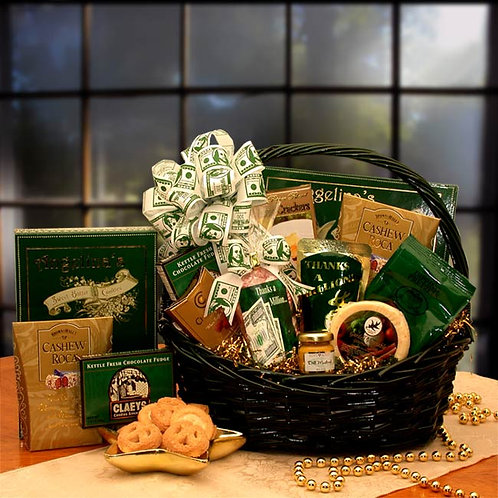 Heartfelt Thank you Gift Basket 830112