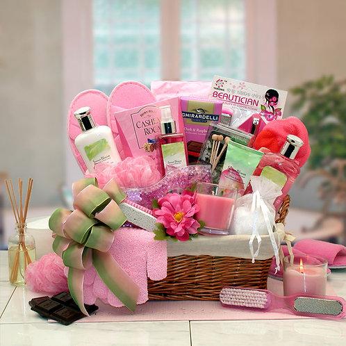 Sweet Blooms Spa Gift Basket 8413552