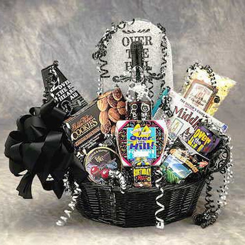 Over The Hill Birthday Basket 86021