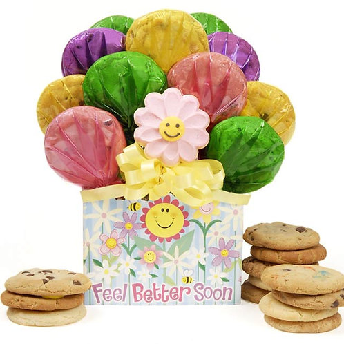 Feel Better Soon Cookie Gift Box -CB-GET-OPEN-BTTR