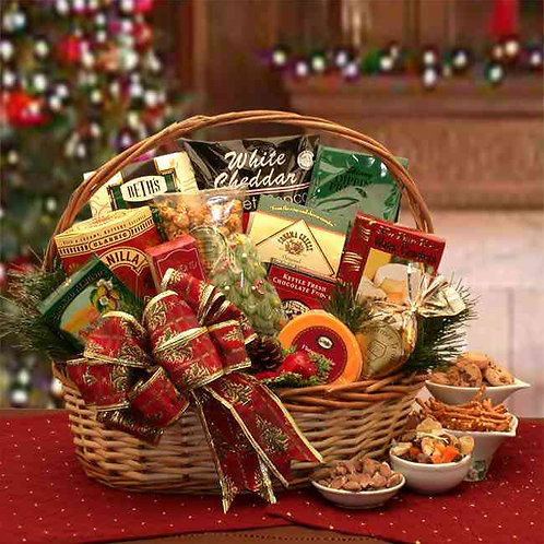 The Bountiful Holiday Gourmet Gift Basket 8161632