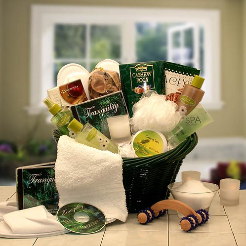 Spa Luxuries Gift Basket 8412752