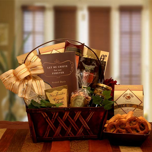 A Time To Grieve Sympathy Gift Basket 813212