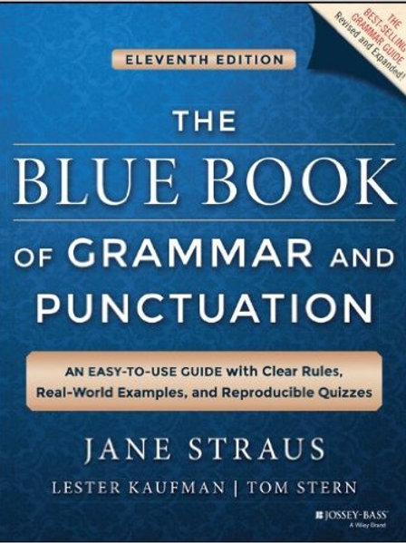 The Bluebook of Grammar and Punctuation