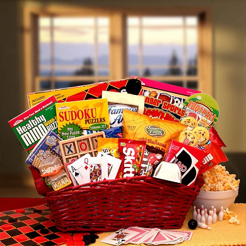 Fun & Games Gift Basket 820592