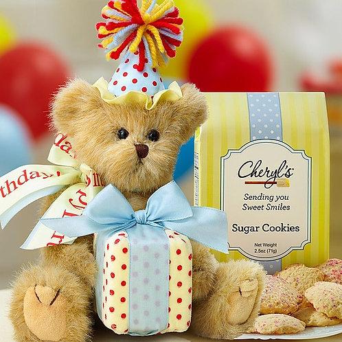 Bearington Birthday Bear w/Cheryl's Cookies