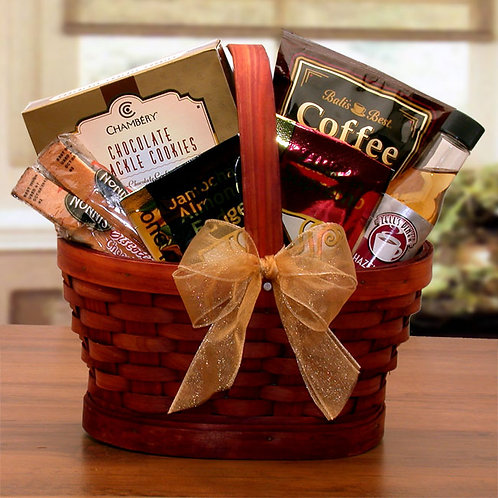 Mini Coffee Break Gift Basket 80213M