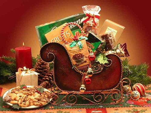 Seasons Greetings Holiday Sleigh 815312