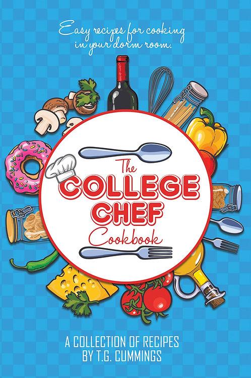 College Chef Cookbook 6x9
