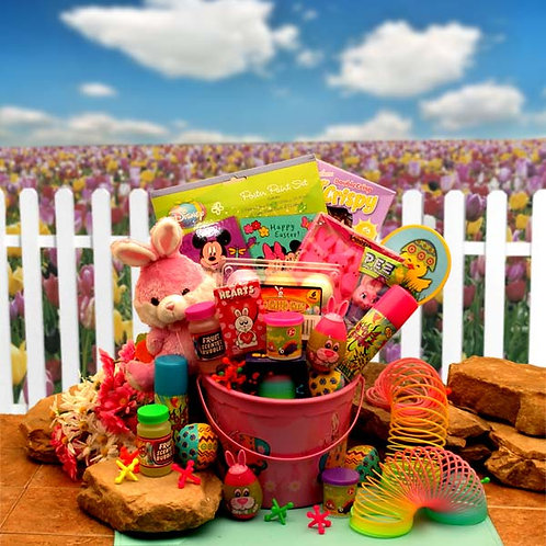Little Pinkie Bunnies Easter Fun Pail 914251
