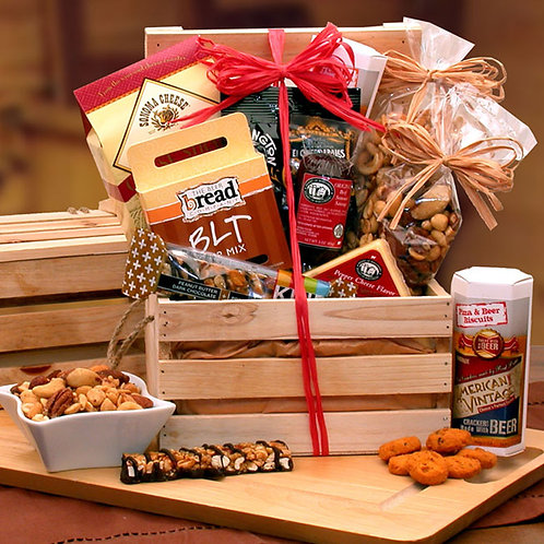 Premium Nuts & Snacks Crate 810792