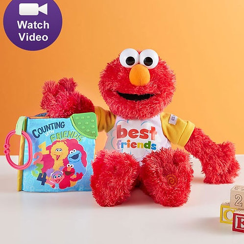 Gund Animated Elmo and Counting Book
