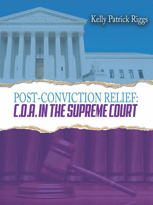 Post-Conviction Relief: C.O.A. in the Supreme Court