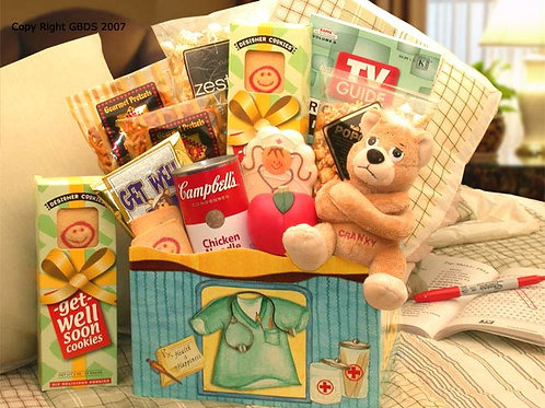 Health & Happiness Get Well Gift Box 813112