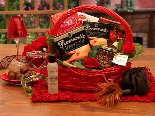 Romantic Massage Romance  Gift Basket 8160372