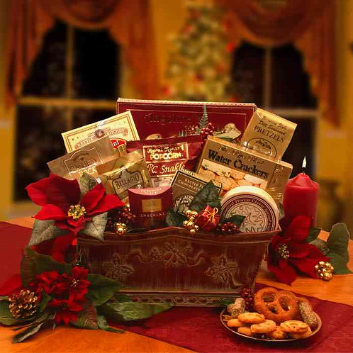 Bountiful Blessings Holiday Gift Basket 816211