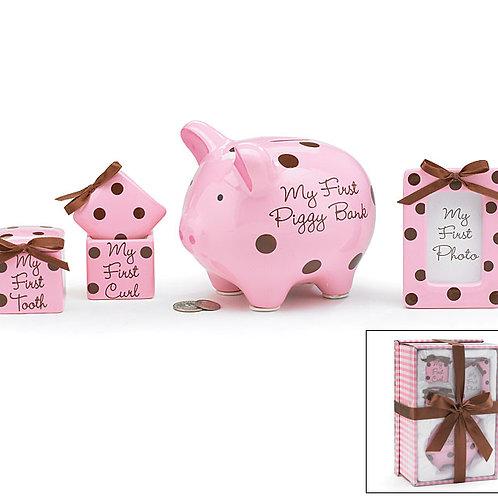 Baby Girl Keepsake Gift Set 971967