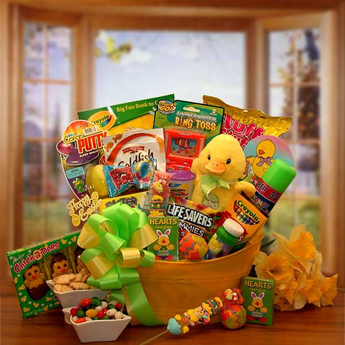 Easter Sunshine Little Duckling Gift Pail 915532