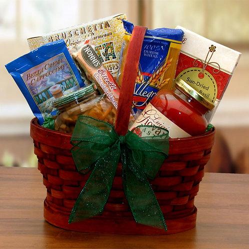 Mini Italian Dinner For Two Gift Basket 80153M