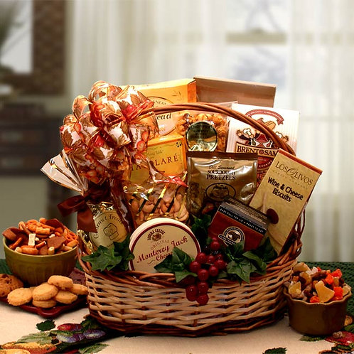 Bountiful Favorites Gourmet Gift Basket 810692