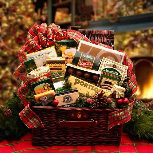 Home & Hearth Fireside Holiday Hamper 816331