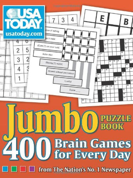 Variety Puzzle Book, 400 Puzzles, Volume 8