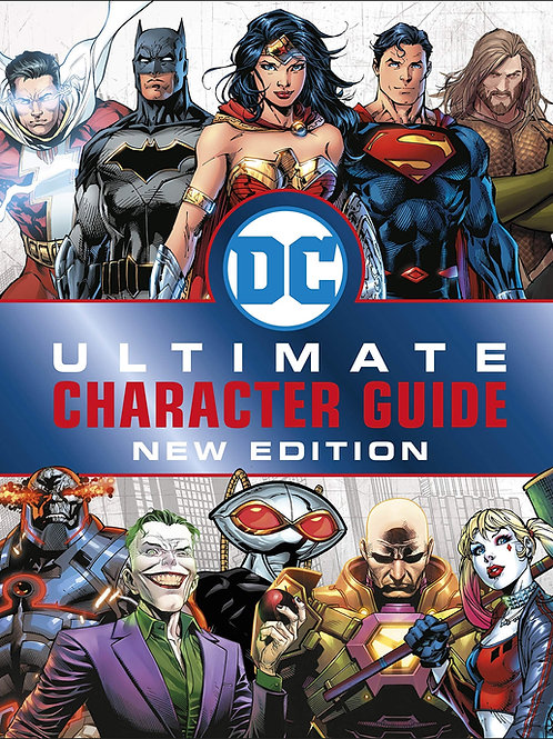 DC Comic Ultimate Character Guide, New Edition