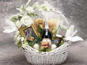 Wedding Wishes Gift Basket - Med. 87012