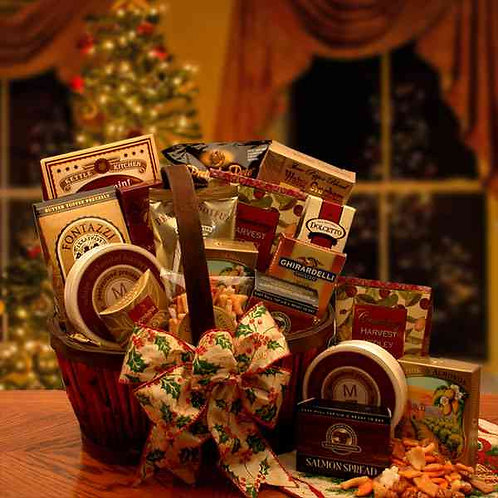 The Holiday Butler Gourmet Gift Basket 816892