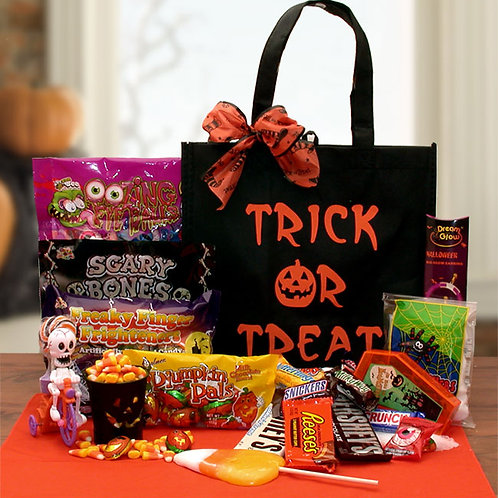 Trick Or Treat Halloween Gift Tote 914852