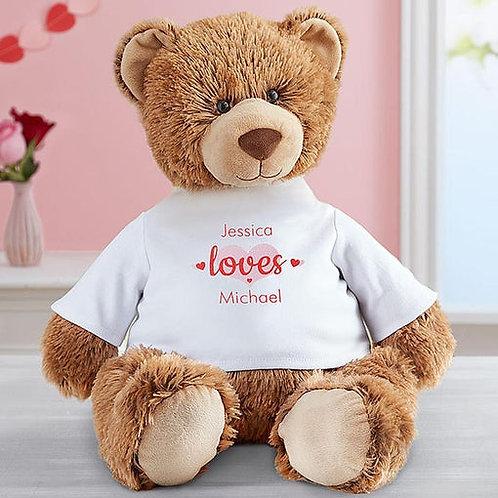 Personalized Tommy Teddy XOXO