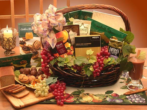 The Kosher Gourmet Gift Basket 810272