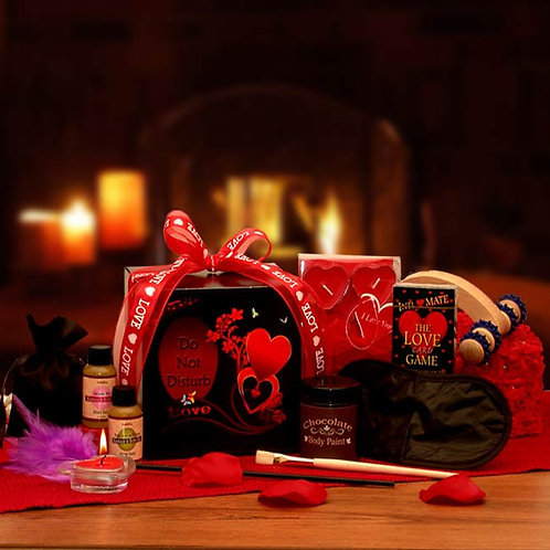 The Game of Love Romantic Care Package 8162052