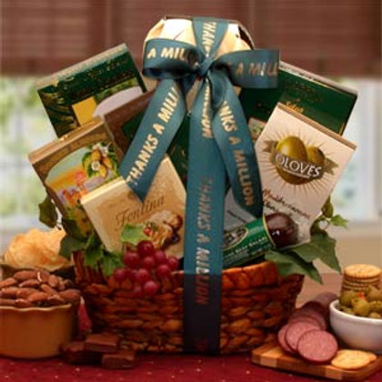 A Gourmet Thank You Gift Basket 830172