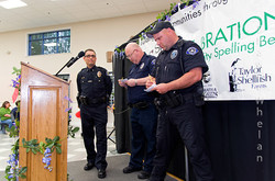 Shelton Police Departmen, sponsored by Darrin & Mary Ann Moody, Pat & Toby Kevin