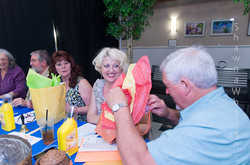 The judges table delighting in bribery!