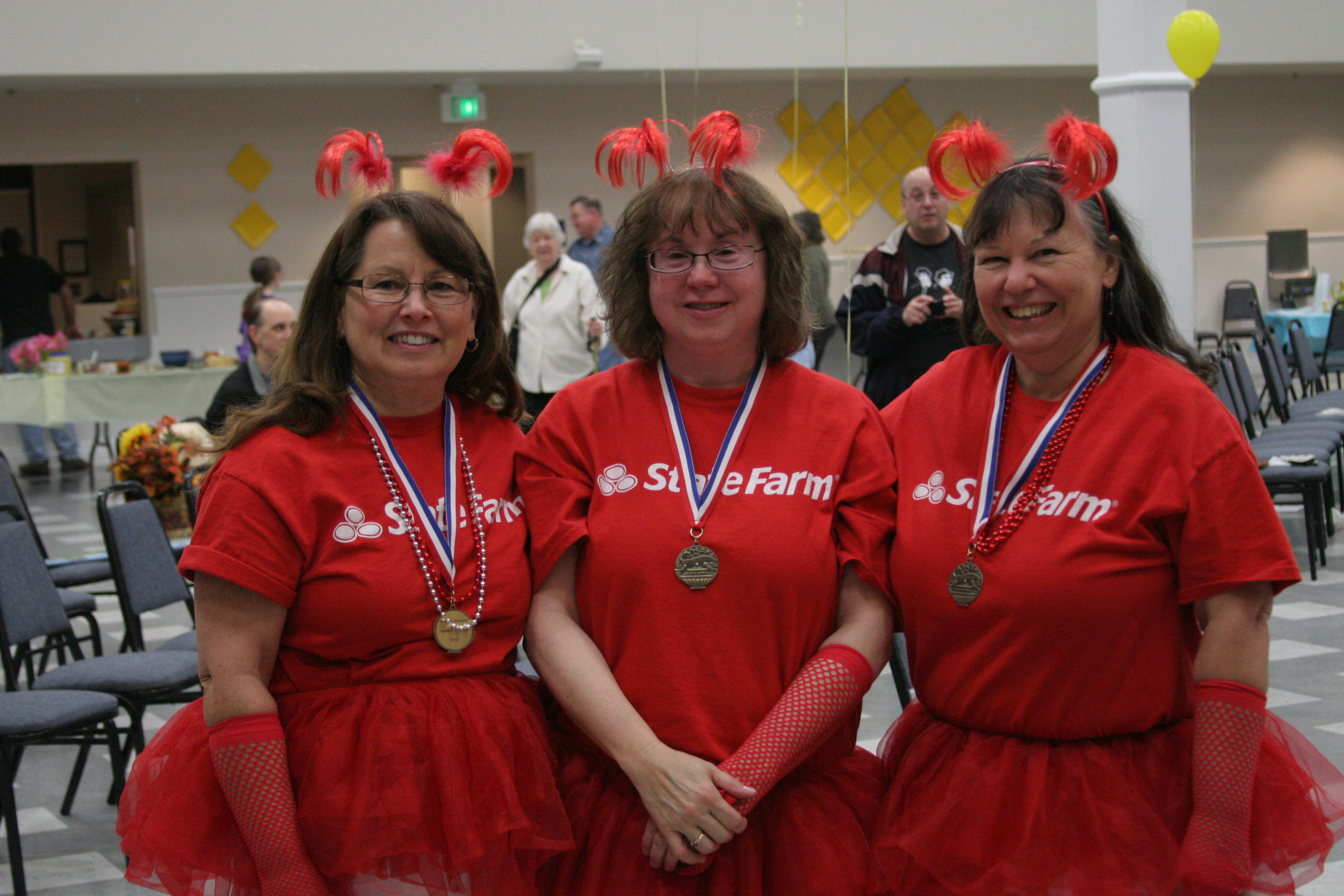 The Good Neighbors, sponsored by Bakala State Farm, in 2nd place!