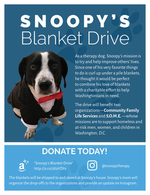 Snoopy's Blanket Drive