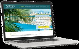 ACE2020 Website Design
