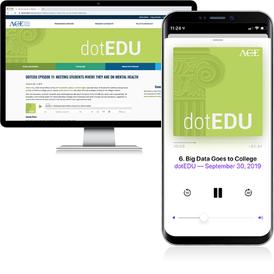 dotEDU Podcast Branding