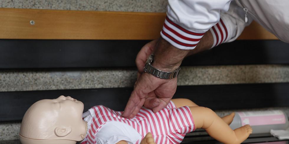 Corso di rianimazione cardiopolmonare e abilitazione all'uso del defibrillatore nel soggetto pediatrico (PBLS-D)